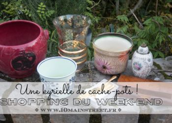 Shopping du week-end : une kyrielle de cache-pots