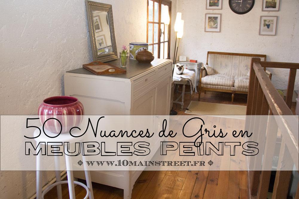 50 Nuances De Gris En Meubles Peints Possibilités Infinies