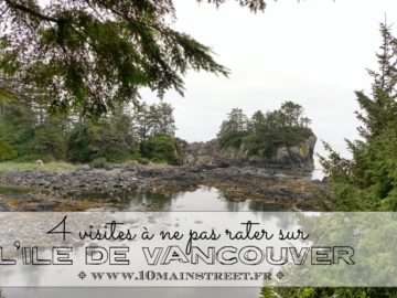 4 Visites à ne pas manquer sur Ile de Vancouver