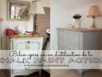 Chalk paint Action : le bilan après un an d'utilisation