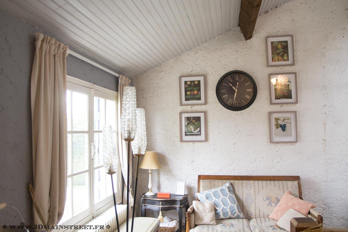 Lambris Ceruse Blanc Pas Cher peindre un plafond en lambris en un week-end et transfigurer