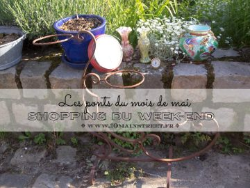 Shopping du week-end : les ponts du mois de mai
