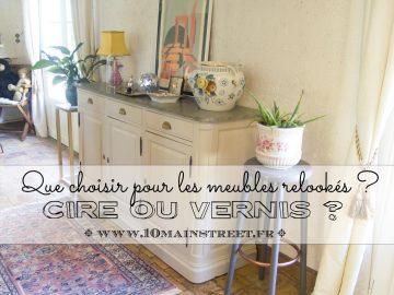 Cire ou vernis : que choisir pour les meubles relookés ?