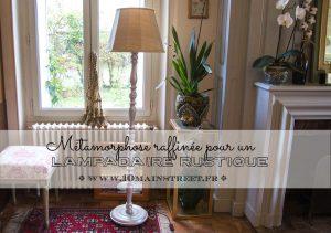 Métamorphose raffinée pour un lampadaire rustique