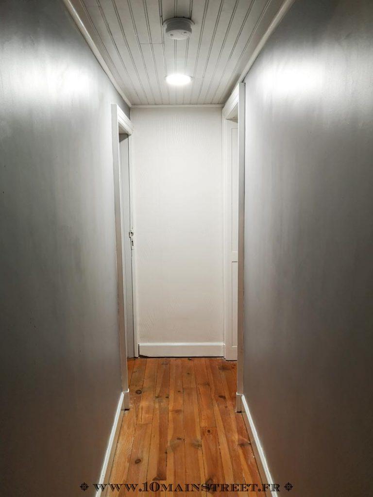 Le couloir relooké