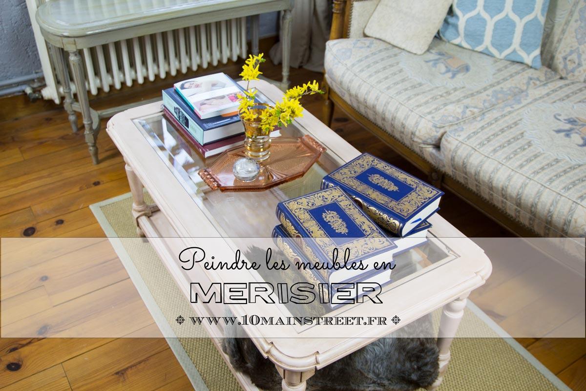 Comment Patiner Une Table peindre les meubles en merisier - 10 main street