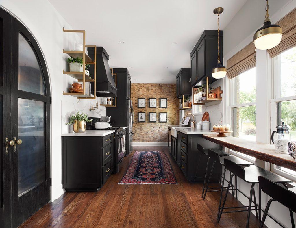 Idee Renovation Salon jolies cuisines dans fixer upper (total renovation) - 10