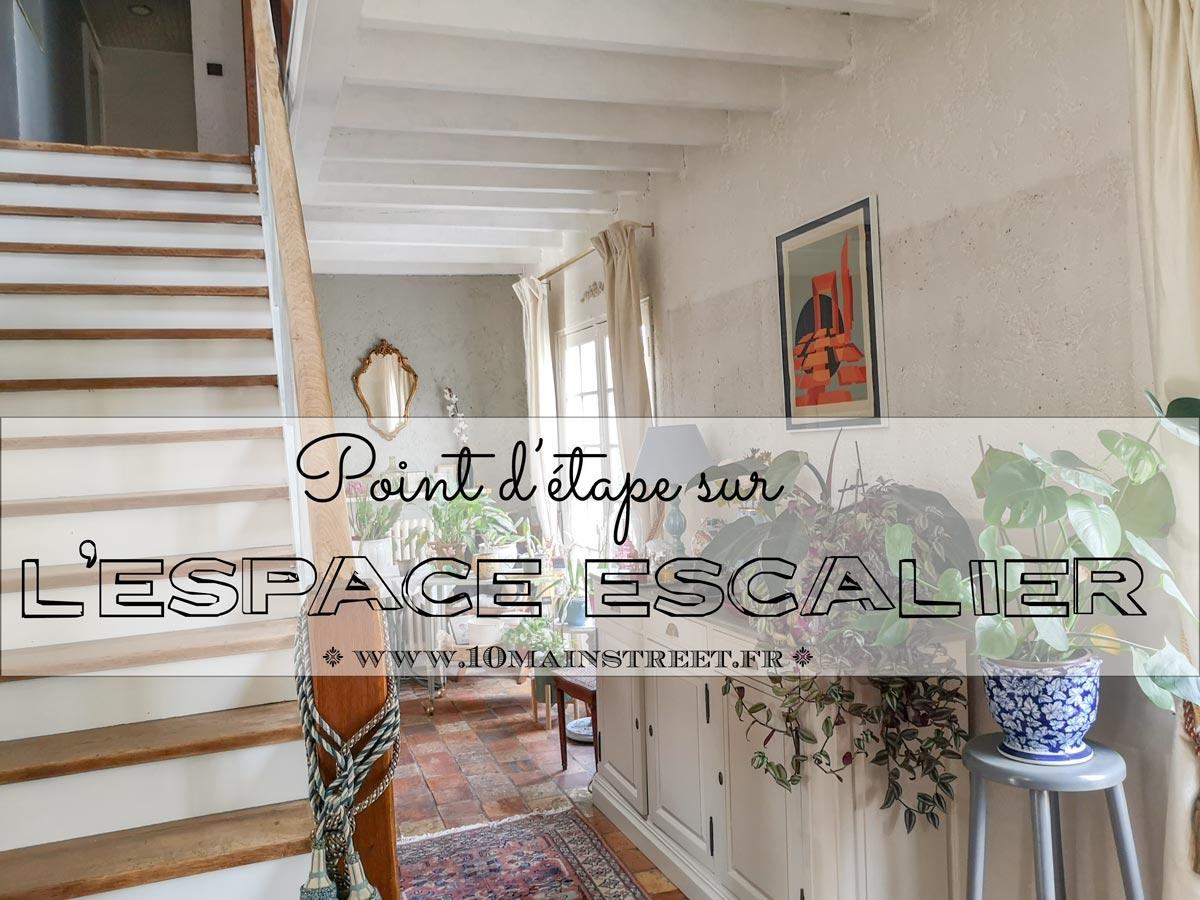 Point d'étape sur l'espace escalier