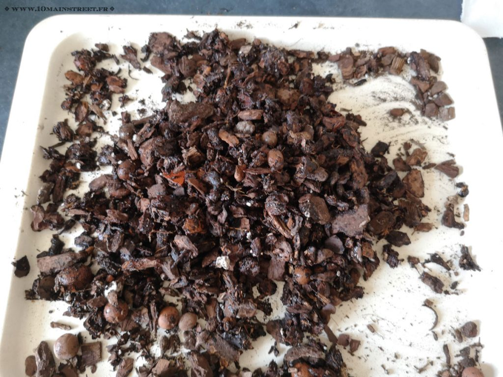 Compost humide