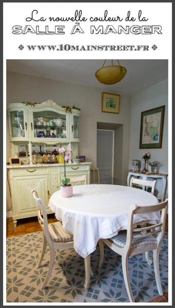 La nouvelle couleur de la salle à manger | #peinture #renovation #tollens #paint
