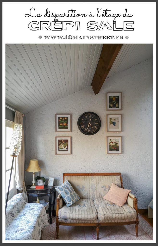 La disparition du crépi sale à l'étage | #crepi #peinture #texturedwalls #renovation