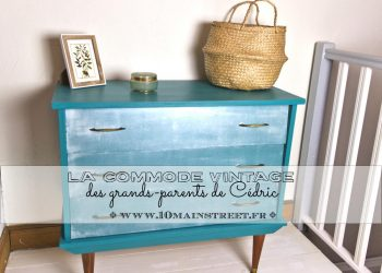 La commode vintage des grands-parents de Cédric