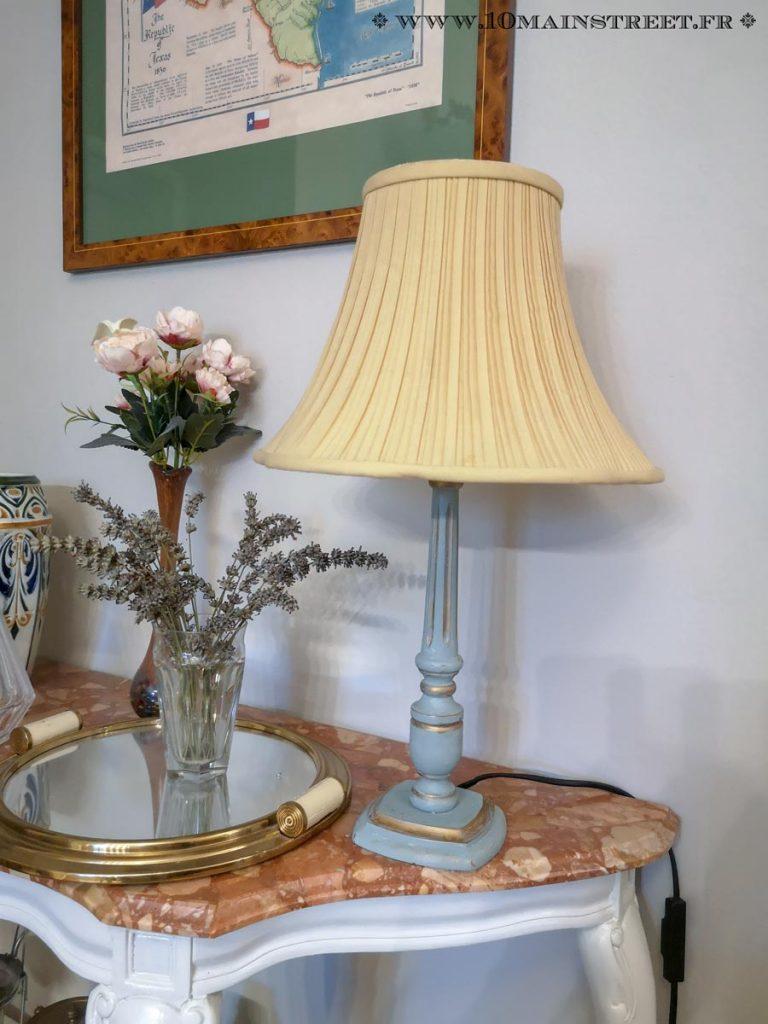 La lampe Louis XVI relookée
