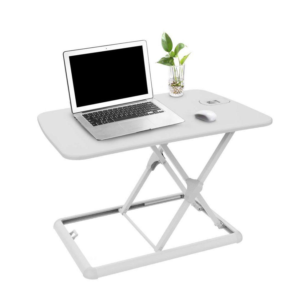 Dispositif Flexispot pour surélever un bureau