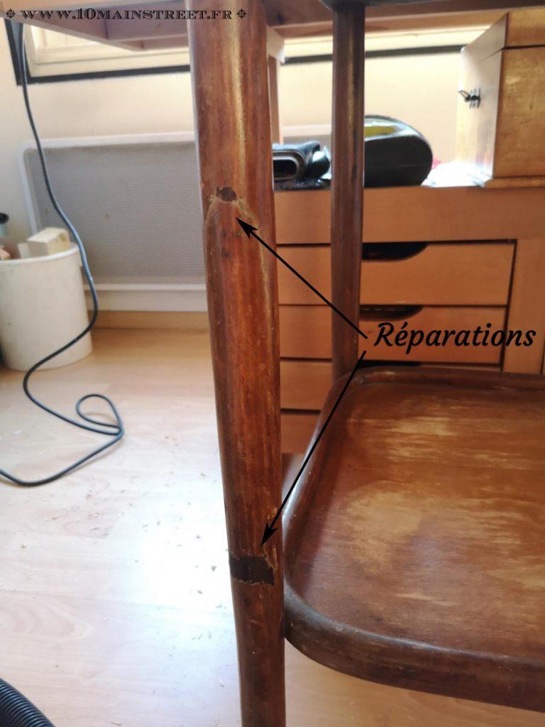 Etat réel du meuble