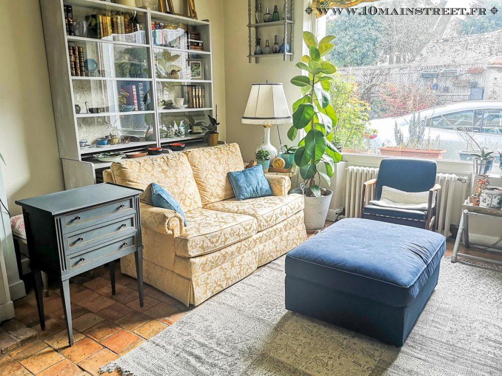 Le bout de canapé dans le salon