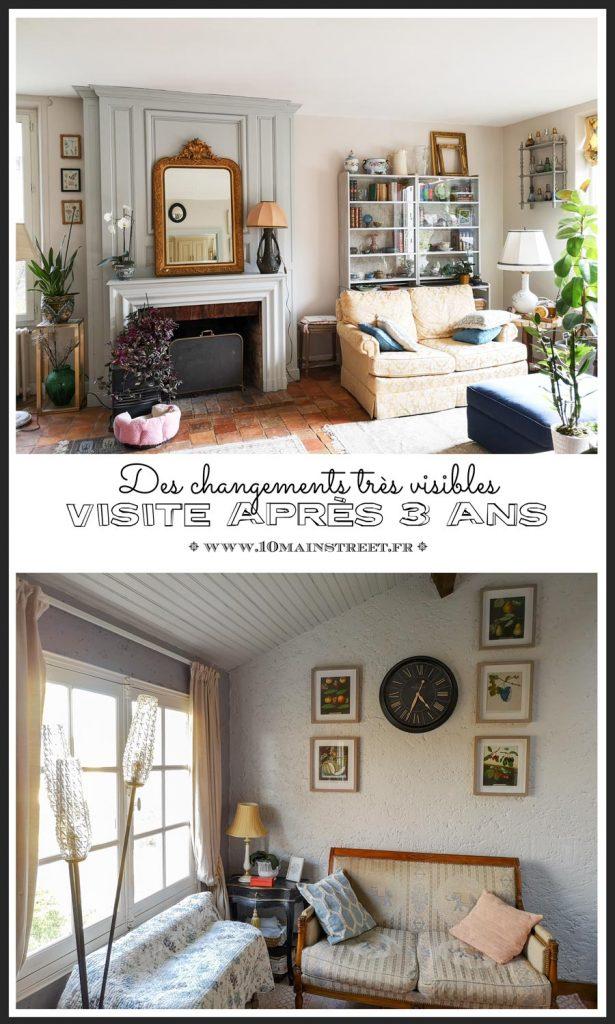 Visite après trois ans : des changements très visibles | #renovation #travaux #homeimprovement #housetour