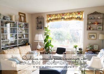 Aménager un salon confortable : quelques conseils