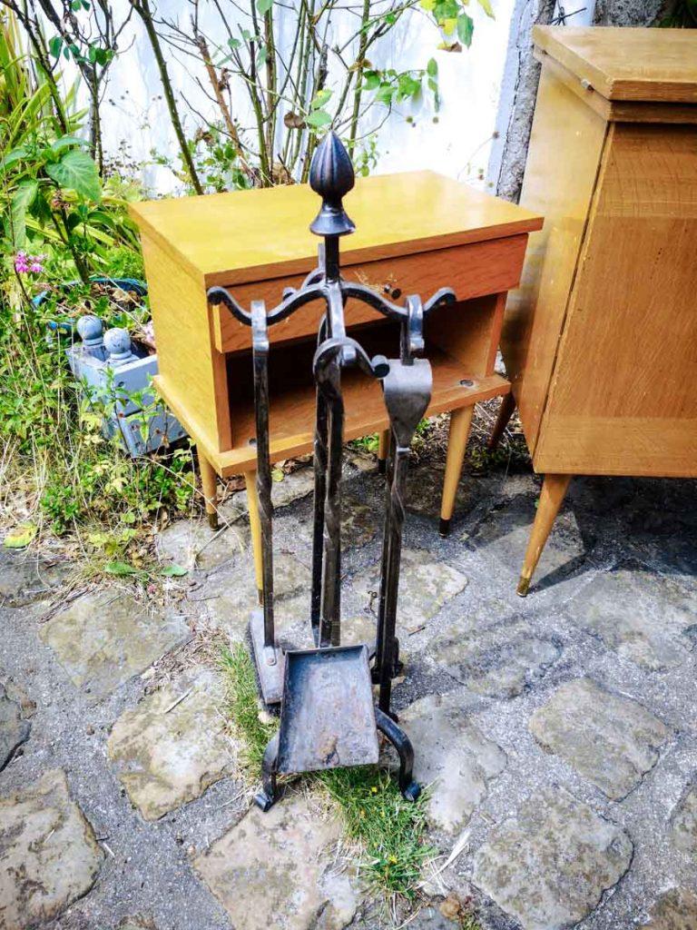 Serviteur de cheminée ancien