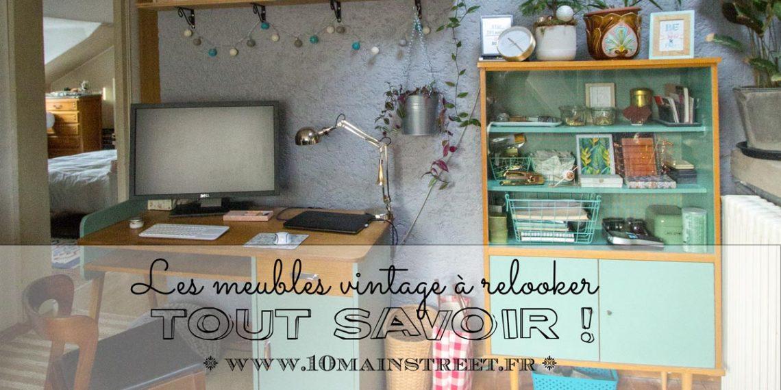 Tout savoir sur les meubles vintage à relooker