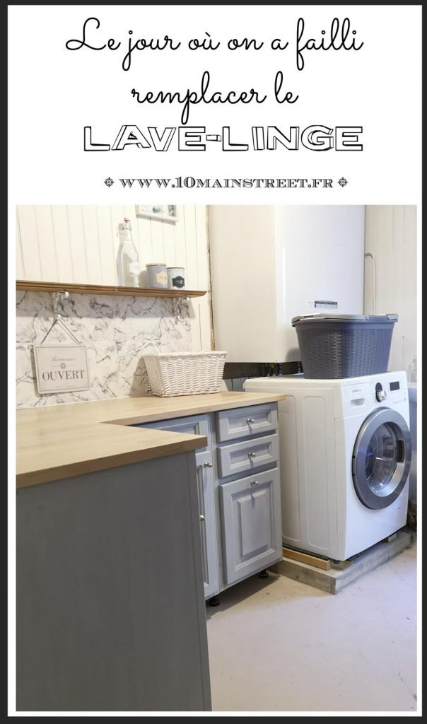 Lave-linge : le jour où on a failli le remplacer | www.10mainstreet.fr | #electromenager #reparatiion #repair #laundry #buanderie