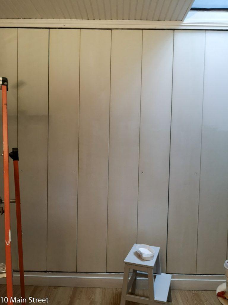 Peinture des portes de placard