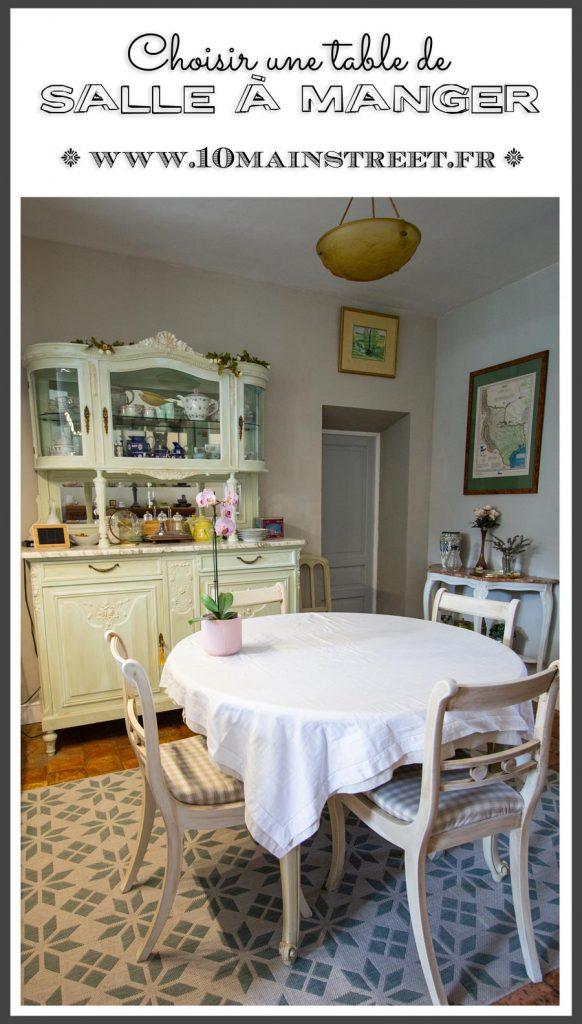 Choisir une table de salle à manger #shopping #ad #sponsored