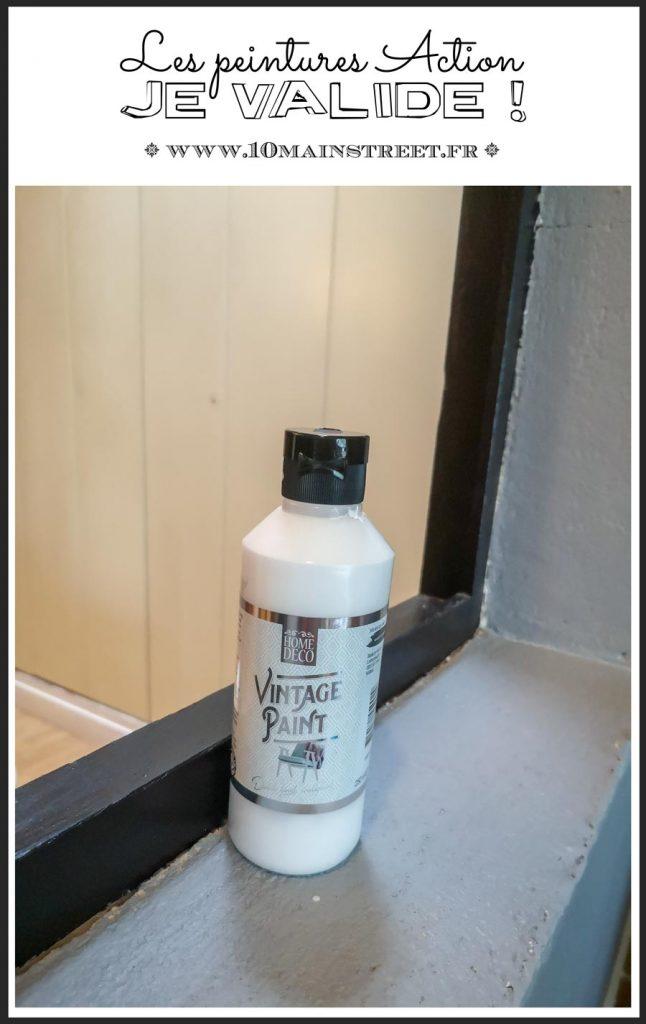 Les peintures Action : je valide ! #renovation #actionfrance #actionDIY #peinture