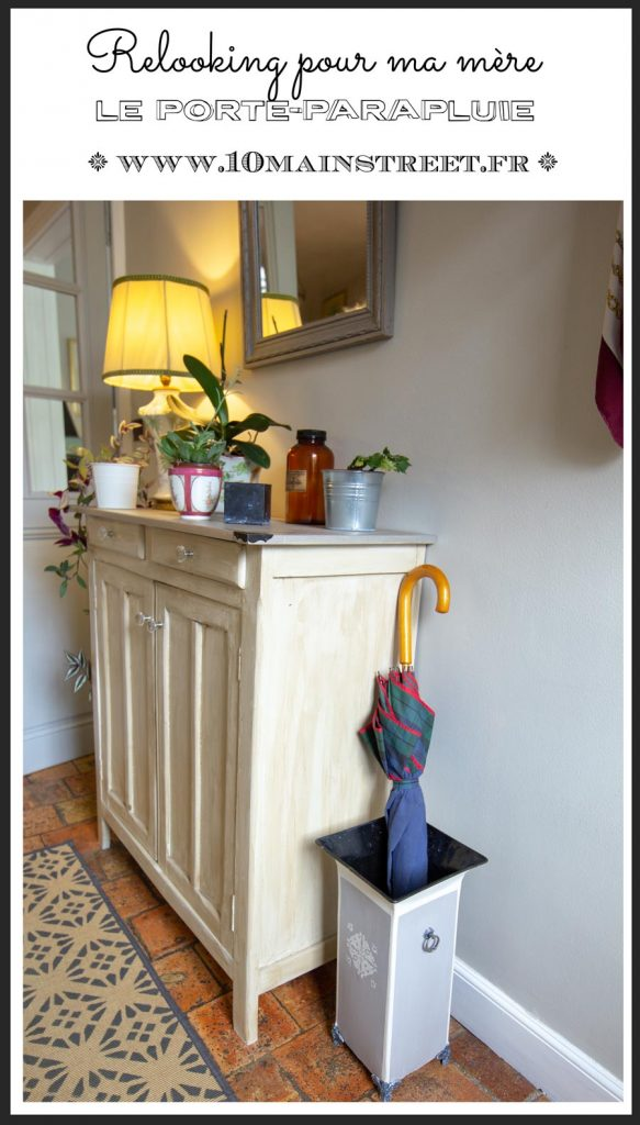 Un porte-parapluie relooké pour ma mère | ID Paris | www.10mainstreet.fr