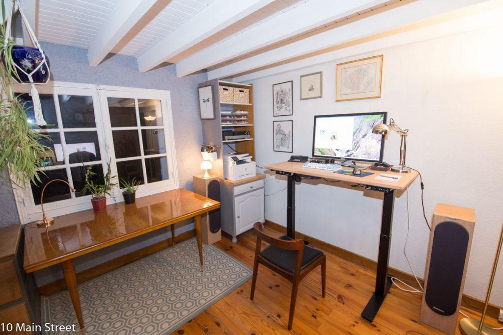 Le bureau du côté de Cédric
