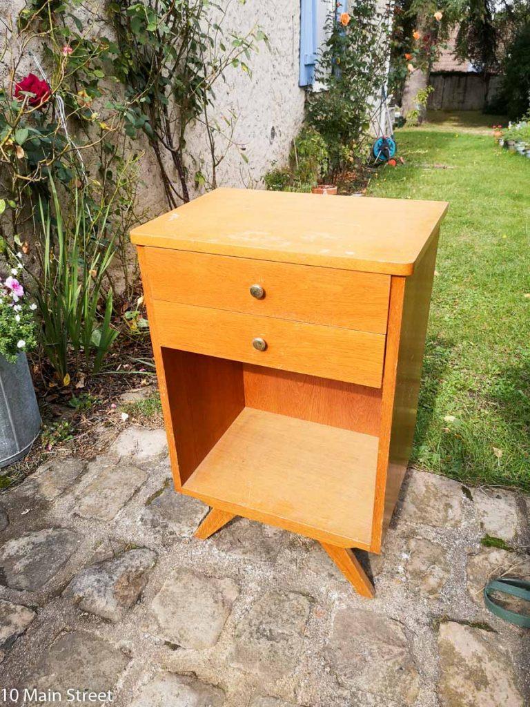 Le meuble de bureau vintage à l'origine