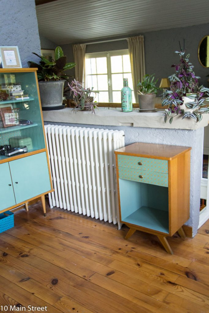 Le meuble de bureau vintage en situation
