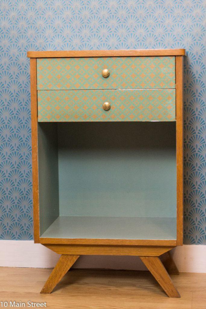 Meuble de bureau vintage relooké