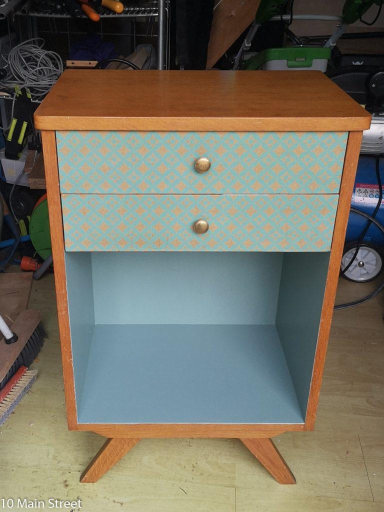 Le meuble de bureau vintage relooké