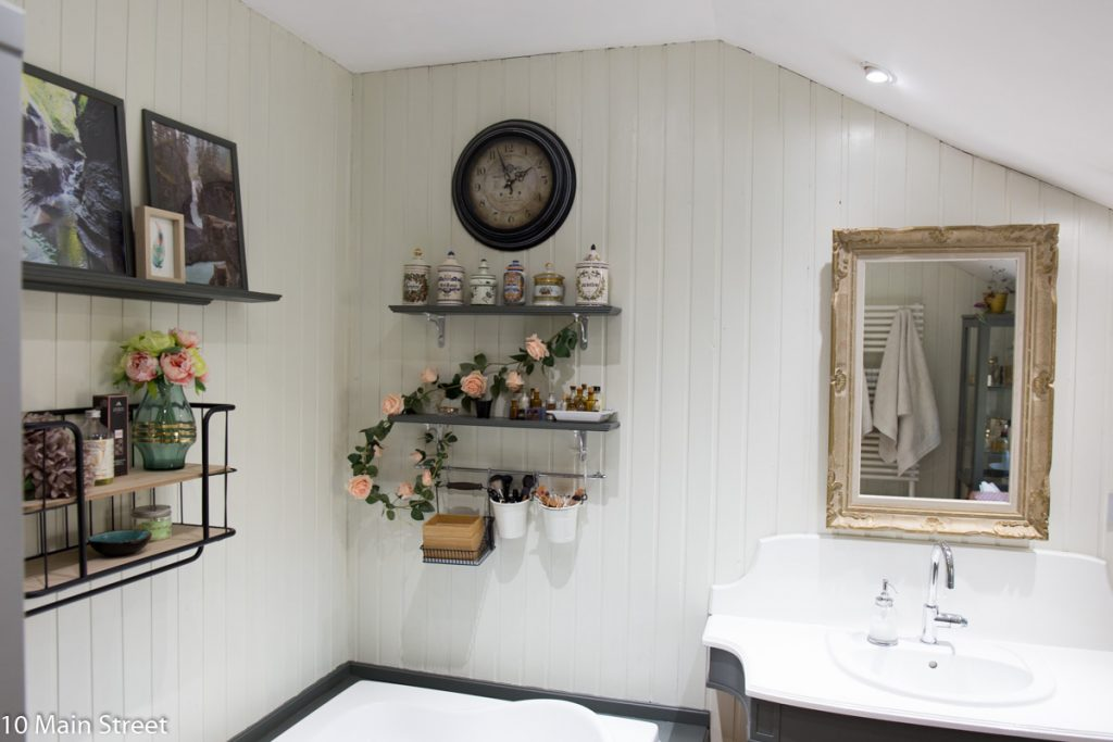 Nouveau miroir de la salle de bain