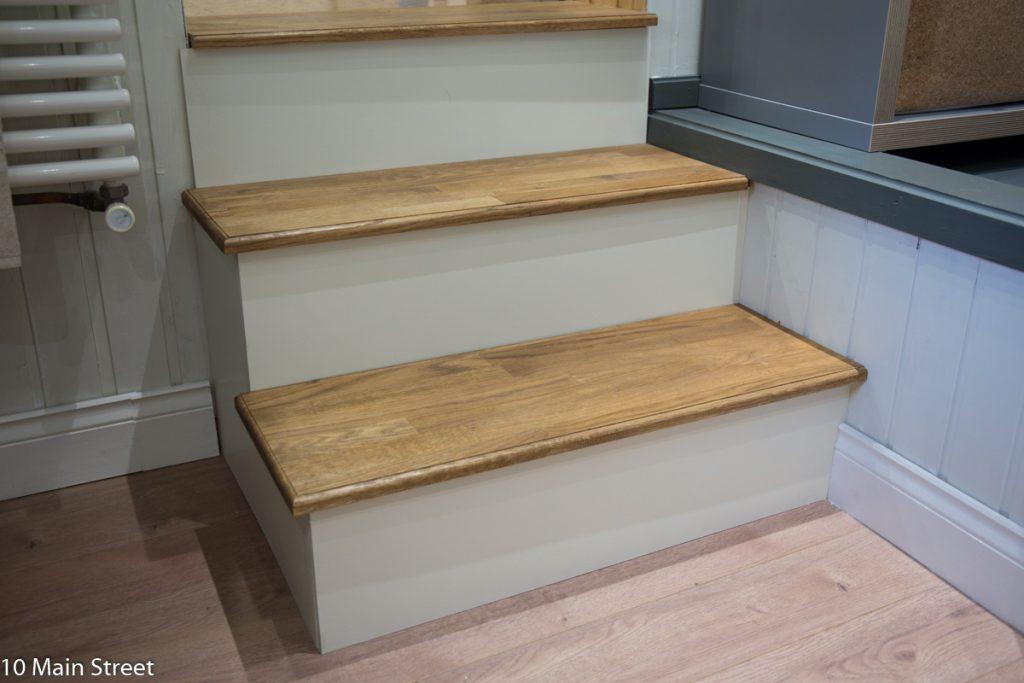 Escalier rhabillé