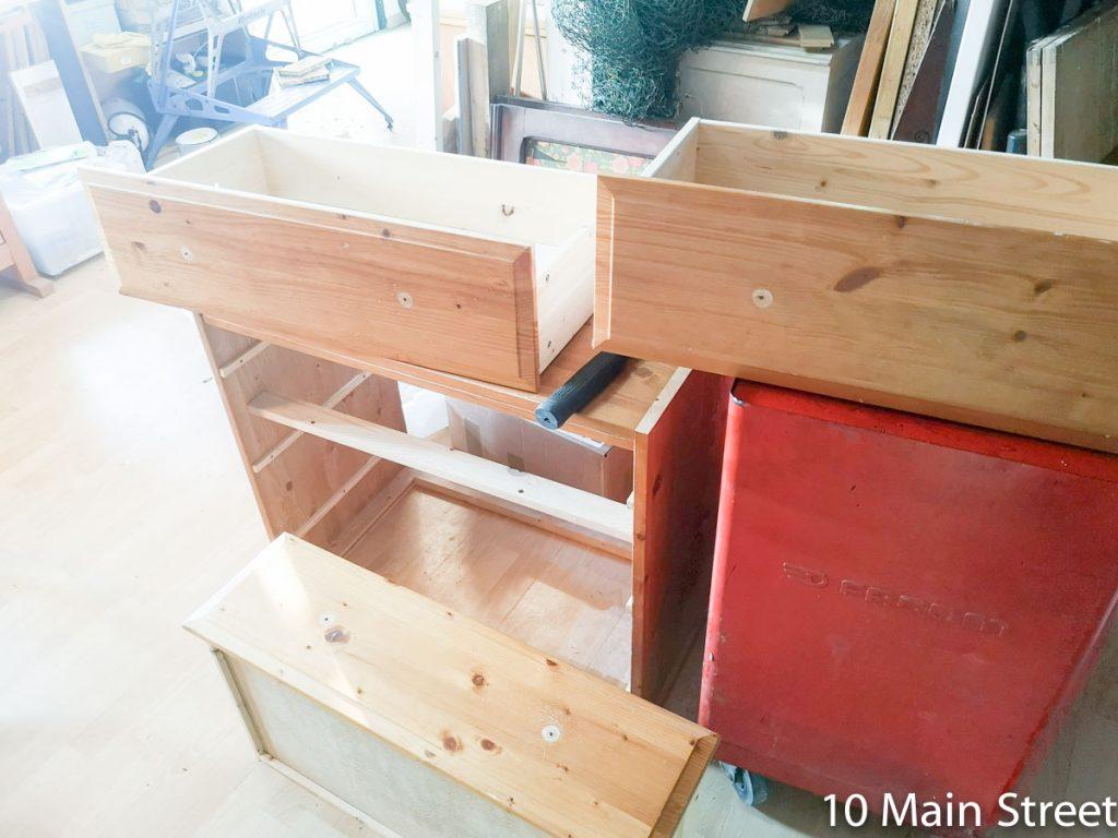 Elimination des boutons en bois