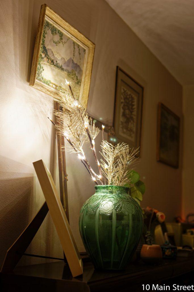 Décoration de Noël dans la maison