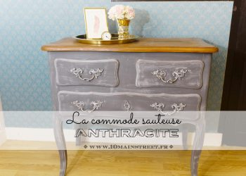 La commode sauteuse anthracite