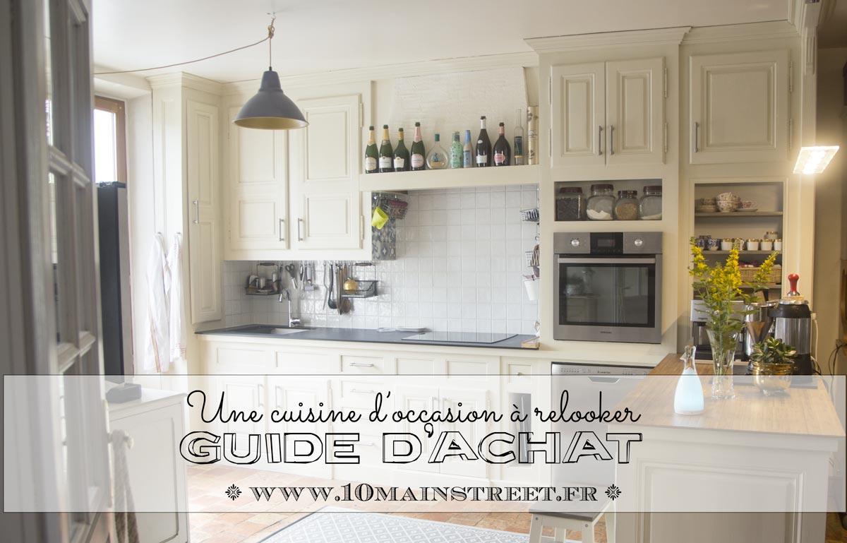 Acheter une cuisine à relooker