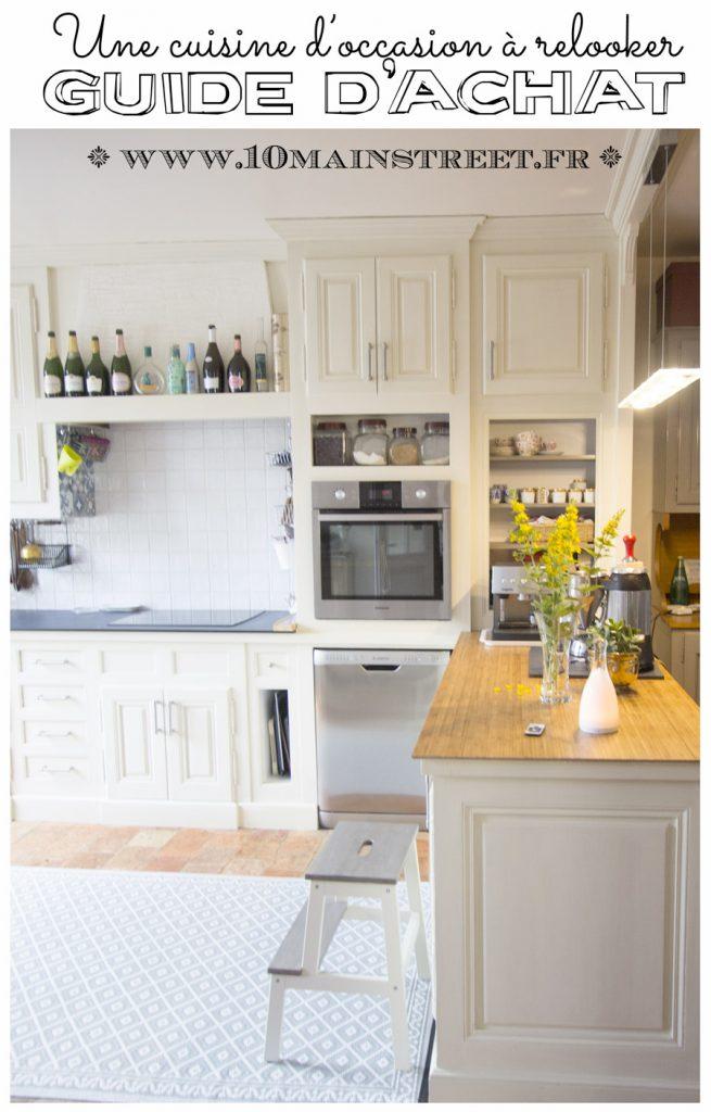 Acheter une cuisine à relooker - cuisine d'occasion - cuisine à customiser - guide d'achat
