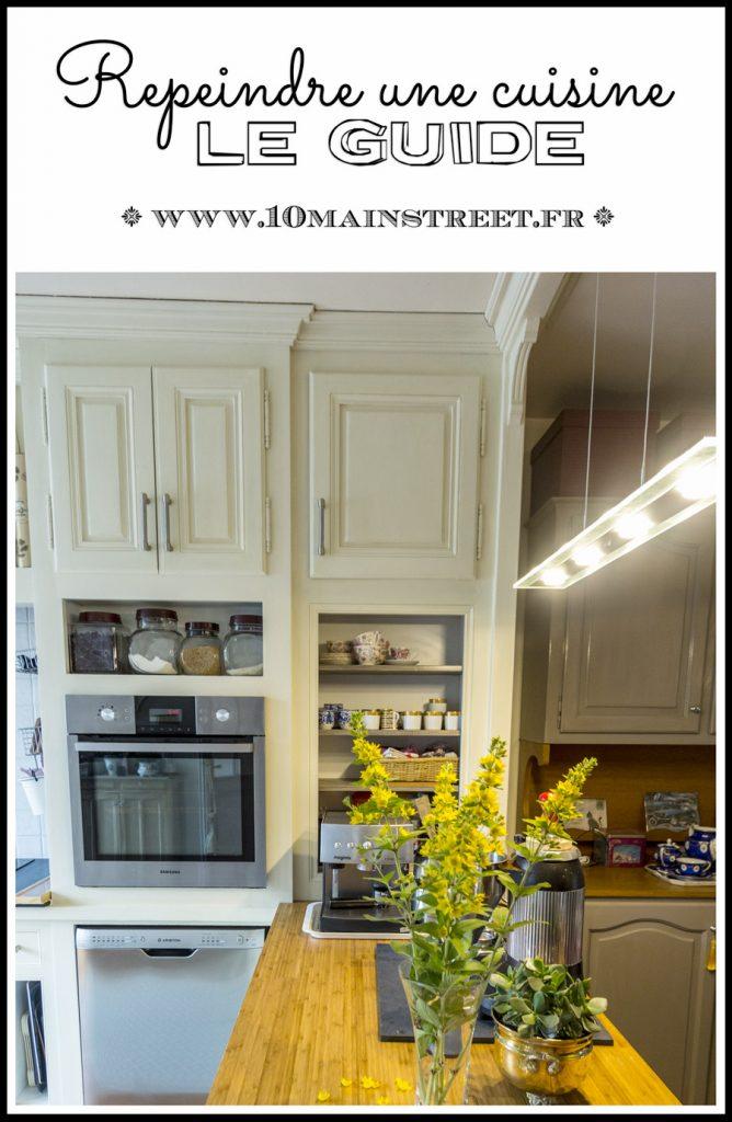 Repeindre une cuisine : le guide pratique - relooker une cuisine rustique ou en aggloméré démodée pour avoir une finition tendance et durable - relooker sa cuisine
