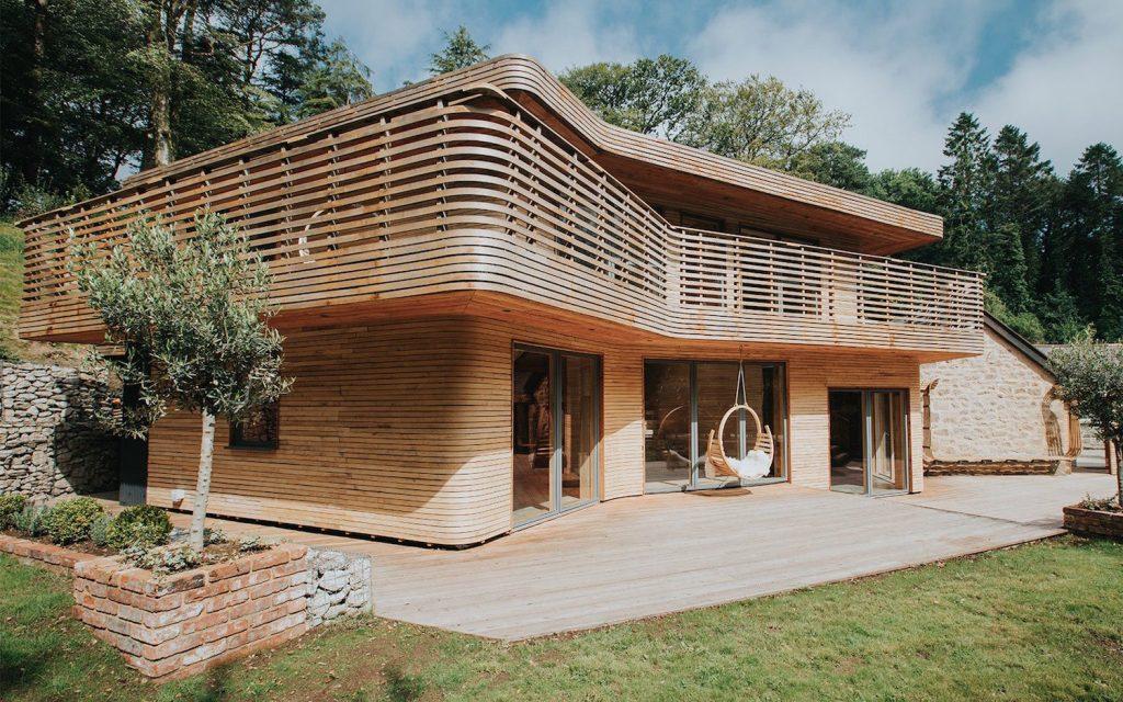 Maison en bois dans Grand Designs