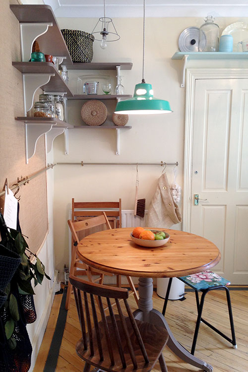 Salle à manger dans le Great Interior Design Challenge