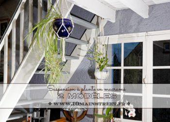 Suspension à plante en macramé : 2 modèles - 10 Main Street