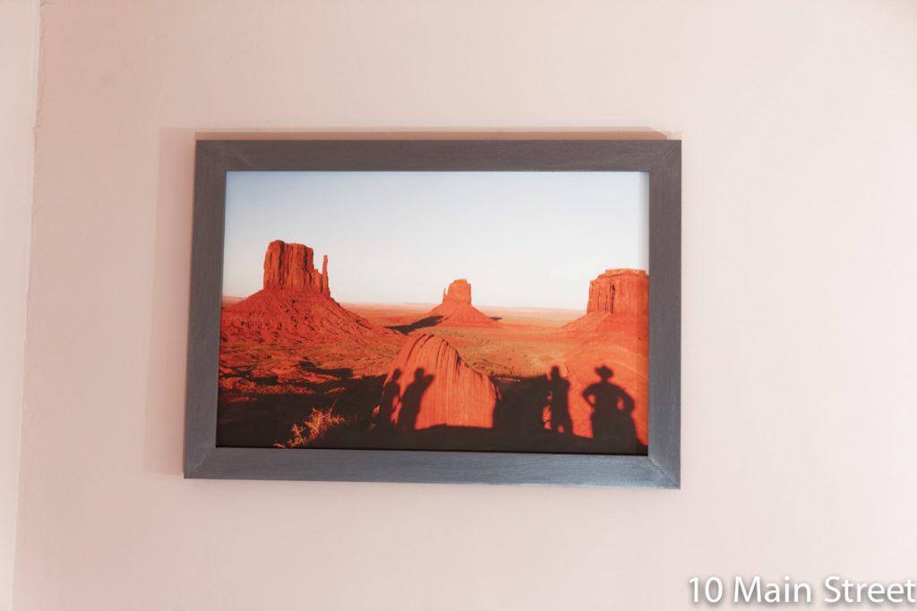 Photo de Monument Valley dans le cadre récup