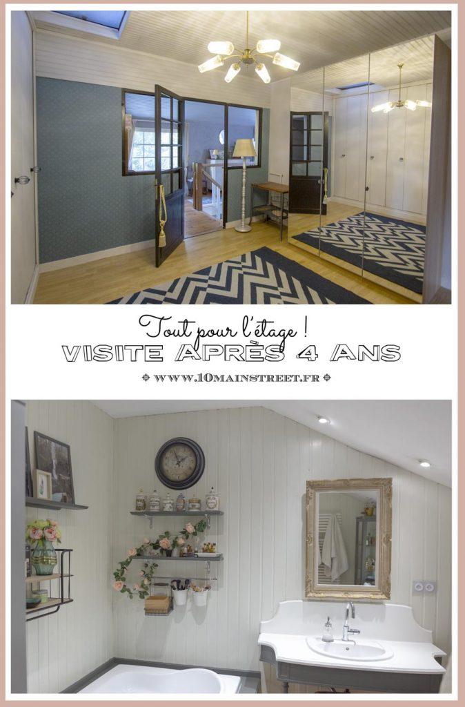 Visite après 4 ans de blog et de rénovation : tout pour l'étage !