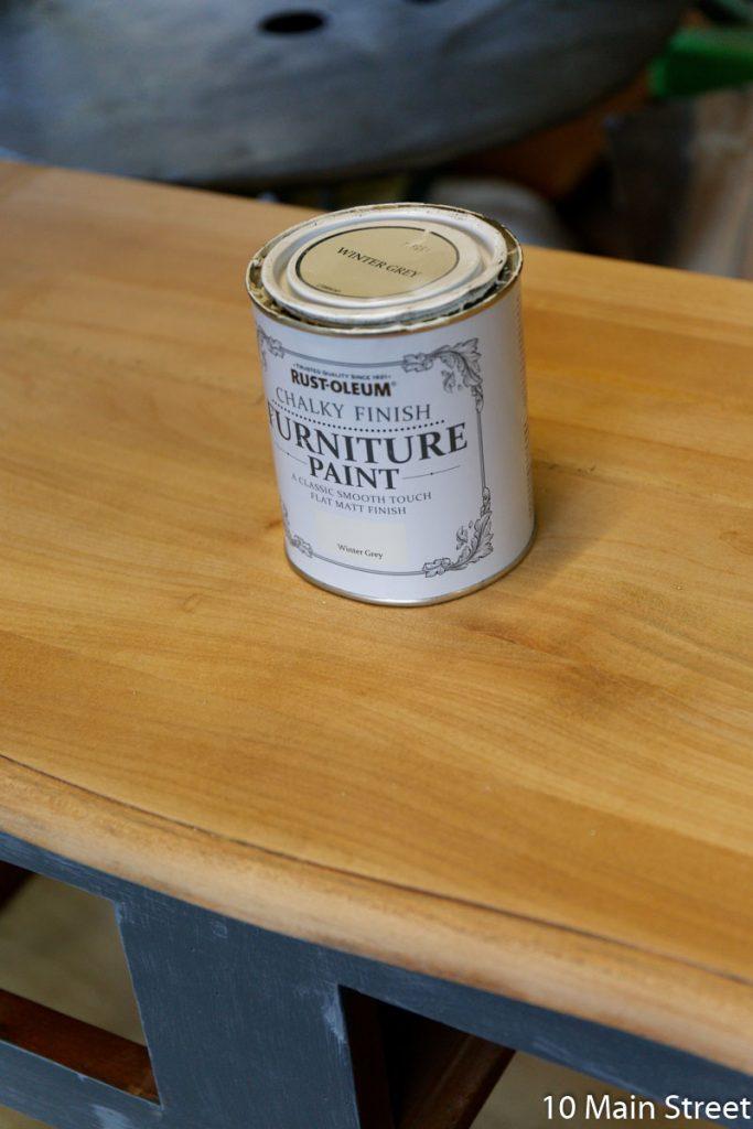 Chalk Paint Rust-Oleum Winter Grey