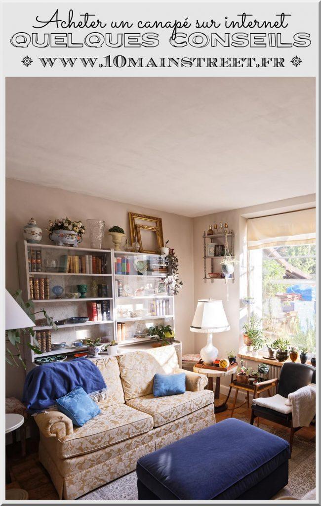 Acheter un canapé sur internet : quelques conseils, avec La Redoute