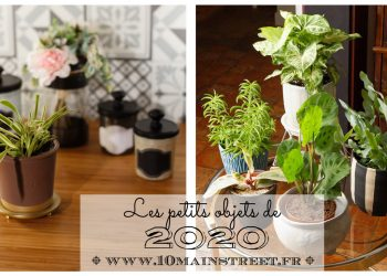 Les petits objets de 2020 #upcycling #relooking